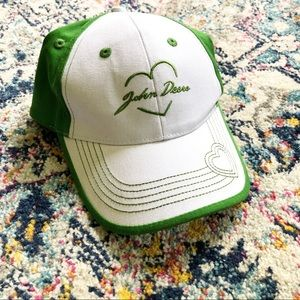 John Deere Embroidered Adjustable Cap